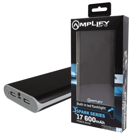 Amplify Pro Spark Series 17600mAh Powerbank(9001)