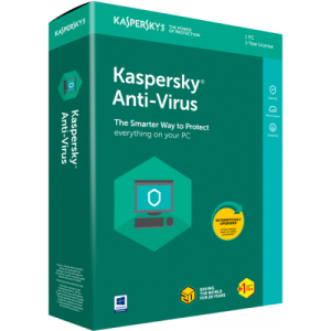 Kaspersky Anti-Virus 2020 1+1 User
