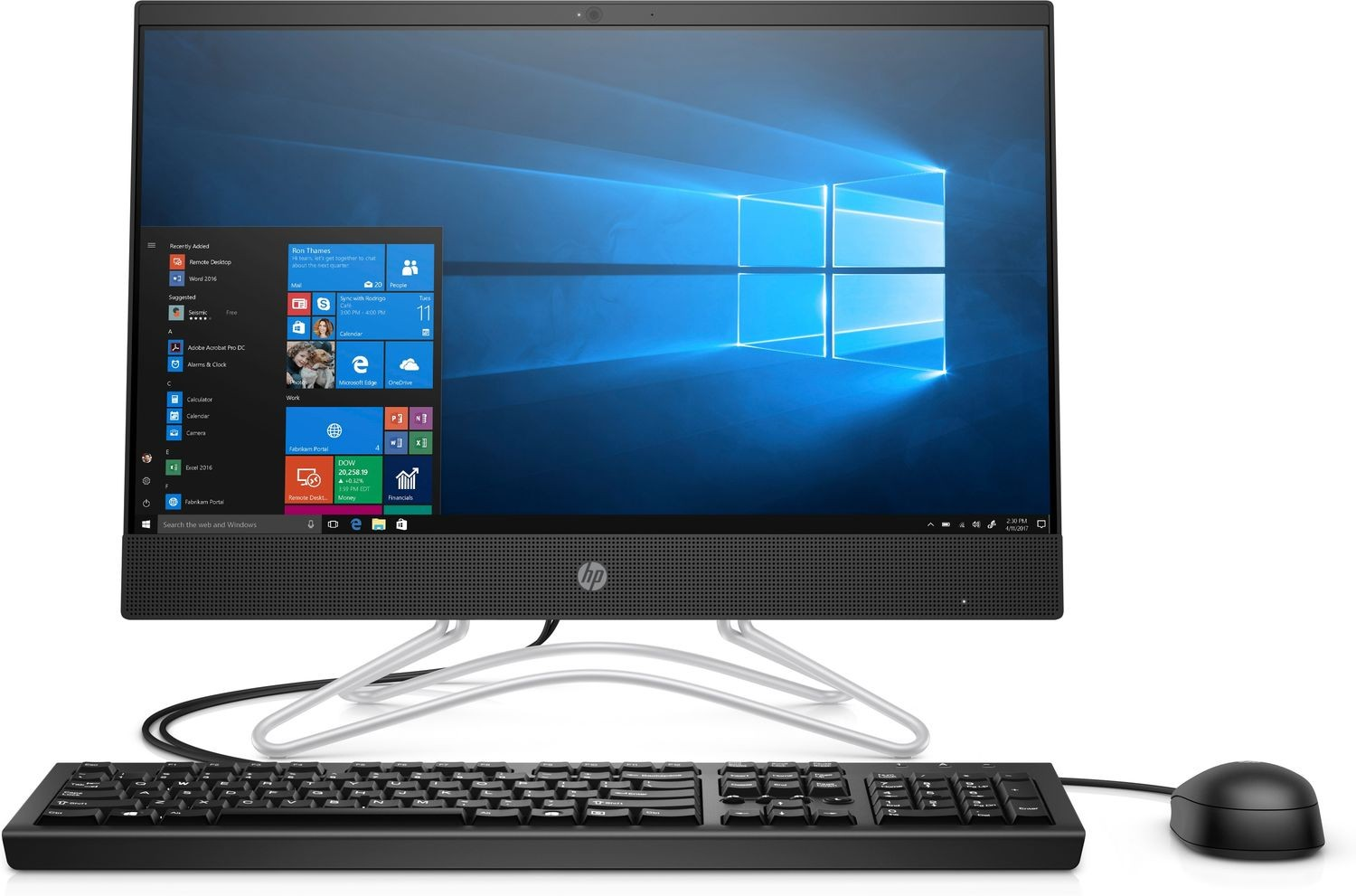 HP 200 G3 All-in-One PC Core i3 4GB RAM 1TB HDD