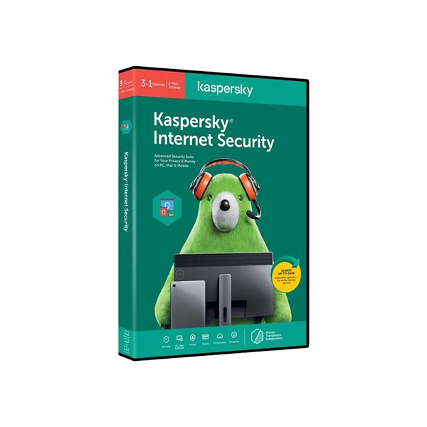 KASPERSKY INTERNET SECURITY 2020 3+1