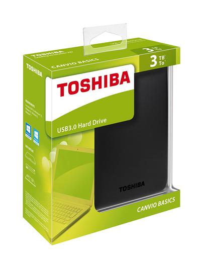 Toshiba 3TB Portable Hard Drive