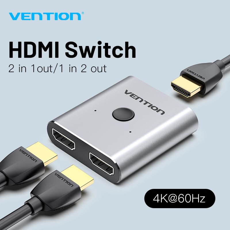 Vention HDMI Switcher 4K Bi-Direction 2.0 HDMI Switch