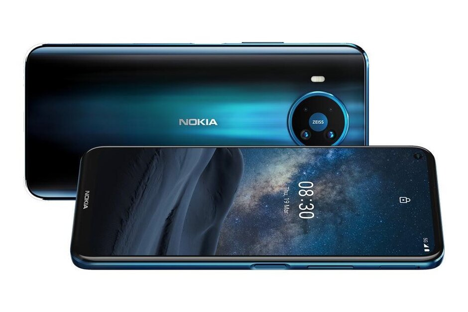 NOKIA 8.3,5G,8GB,128GB